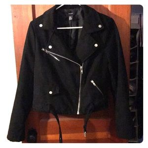 Forever 21 black Moto jacket